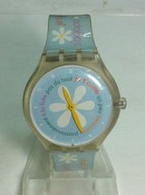 SWATCH FRENCH LOVER TOUCH GAME YOU'LL KNOW HOW MUCH HE LOVES YOU nice ladies watch ladies RARE in Ramstein, Germany