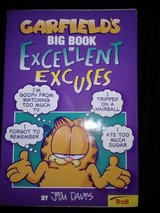 Garfield's Big Book of Excellent Excuses book in Camp Lejeune, North Carolina