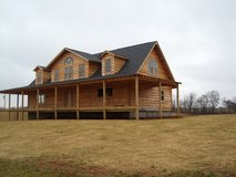 NEW Log Home Package 2707 sq ft (931-262-2602) in Pleasant View, Tennessee