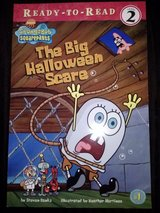 Spongebob Squarepants The Big Halloween Scare book in Camp Lejeune, North Carolina