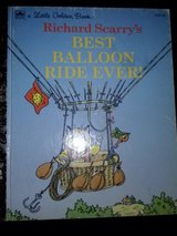 Little Golden book-Richard Scarry's Best Balloon Ride Ever! hardcover book in Camp Lejeune, North Carolina