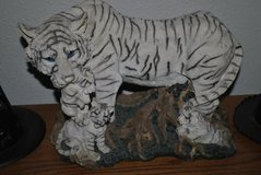 Tiger Mom&Cubs Figurine in Fort Lewis, Washington