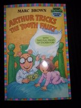 Arthur Tricks the Tooth Fairy softcover book in Camp Lejeune, North Carolina
