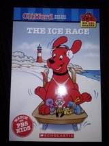 Clifford The Big Red Dog: The Ice Race softcover book in Camp Lejeune, North Carolina