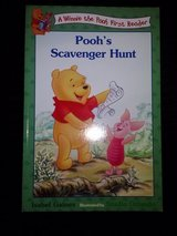 Pooh's Scavenger Hunt book in Camp Lejeune, North Carolina