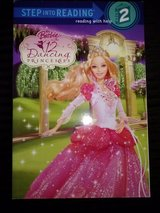 Barbie in the 12 Dancing Princesses softcover book in Camp Lejeune, North Carolina