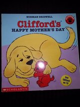 Clifford's Happy Mother's Day book in Camp Lejeune, North Carolina