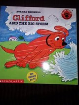 Clifford and the Big Storm book in Camp Lejeune, North Carolina